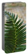 Fern Art Prints Green Garden Fern Branch Botanical Baslee Troutman Portable Battery Charger