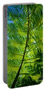 Fern Detail Portable Battery Charger