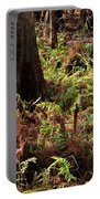 Fern Forest Floor Portable Battery Charger