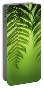 Fern On Green Portable Battery Charger