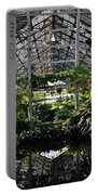 Fern Room Symmetry  Portable Battery Charger