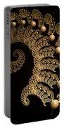 Fern-spiral-fern Portable Battery Charger