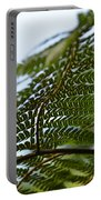 Fern Tree Frond Portable Battery Charger