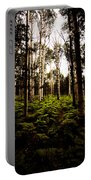 Ferns And Aspen Portable Battery Charger