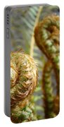 Ferns Art Print Forest Fern Artwork Canvas Baslee Troutman Portable Battery Charger
