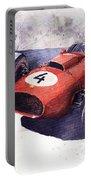 Ferrari 246 Mike Hawthorn Portable Battery Charger