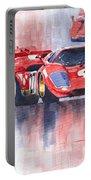 Ferrari 512 S 1970 24 Hours Of Daytona Portable Battery Charger