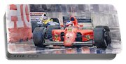 1991 Ferrari F1 Jean Alesi Phoenix Us Gp Arizona 1991 Portable Battery Charger