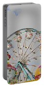 Ferris Wheel And Balloons Portable Battery Charger