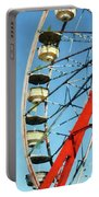Ferris Wheel Closeup Portable Battery Charger