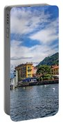 Ferry Dock In Varenna Portable Battery Charger