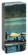 Ferry - Lago De Coatepeque - El Salvador I Portable Battery Charger