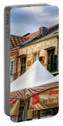 Festival New Orleans Seafood - French Quarter Portable Battery Charger