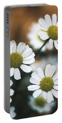 Feverfew Plant Portable Battery Charger
