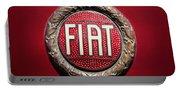 Fiat Emblem -1621c Portable Battery Charger