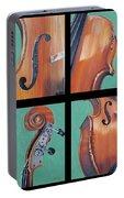 Fiddle Quartet Portable Battery Charger