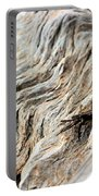 Fiddler Crab On Driftwood Portable Battery Charger