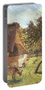 Field At Varengeville Portable Battery Charger by Camille Pissarro