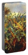 Field Of Banana Trees 1881 Portable Battery Charger