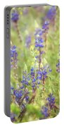 Field Of Blue Lupines  Portable Battery Charger