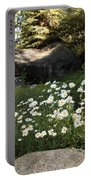 Field Of Daisies In Tahoe Portable Battery Charger