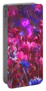 Field Of Dreams Abstract Portable Battery Charger