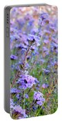 Field Of Lavendar Portable Battery Charger