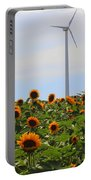 Where The Sunflowers Shine Portable Battery Charger