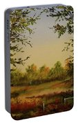 Fields And Trees Portable Battery Charger