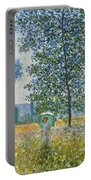 Fields In Spring, 1887 Portable Battery Charger