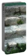 Fieldstone Stairs New England Portable Battery Charger