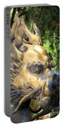 Fierce Foo Dog Face Portable Battery Charger