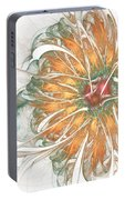 Fiery Chrysanthemum Portable Battery Charger