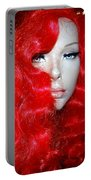Fiery Femme Fatale  Portable Battery Charger