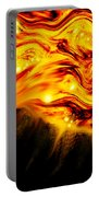 Fiery Sun Erupting With M1.7 Class Solar Flare Portable Battery Charger