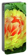 Fiery Yellow Portable Battery Charger