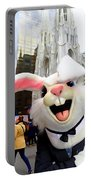 Fifth Ave Easter Bunny Portable Battery Charger