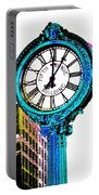 Fifth Avenue Building Clock New York  Portable Battery Charger