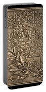 Fiftieth Anniversary Of The Christofle Company, 1842-1892 [reverse] Portable Battery Charger