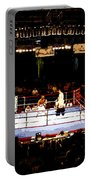 Fight Night Portable Battery Charger by David Lee Thompson