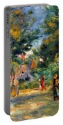 Figures In A Garden Portable Battery Charger