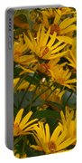 Filled With Sunflowers Horizontal Portable Battery Charger