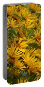 Filled With Sunflowers Vertical Portable Battery Charger
