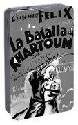 Film Homage Khartoum 1966 Cinema Felix Number 1 Us Mexico Border Town Nogales Sonora 1967-2008 Portable Battery Charger