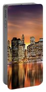 Financial District Sunset Portable Battery Charger