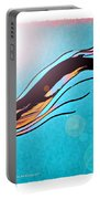 Finback Diving Through Krill Portable Battery Charger