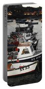 Fine Art- Boats St Ives Harbour Portable Battery Charger