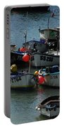 Fine Art- Boats St Ives Portable Battery Charger