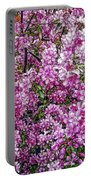Fine Wine Cafe Apple Blossoms Portable Battery Charger