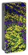 Fine Wine Cafe Colorful Garden Portable Battery Charger